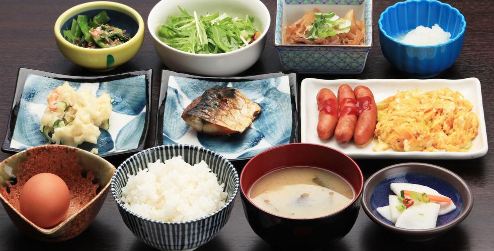 和食を中心としたメニュー